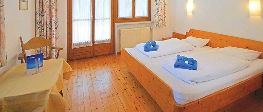 Chalet Tirol, Mayrhofen, Austria - double bedroom.jpg
